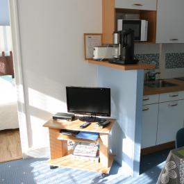 Capvern location appartement PLEIN SOLEIL T1BIS N°1 SEJOUR- CHAMBRE