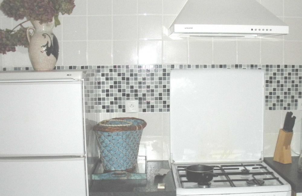 capvern location appartement residence plein soleil appartement N°2 cuisine frigo