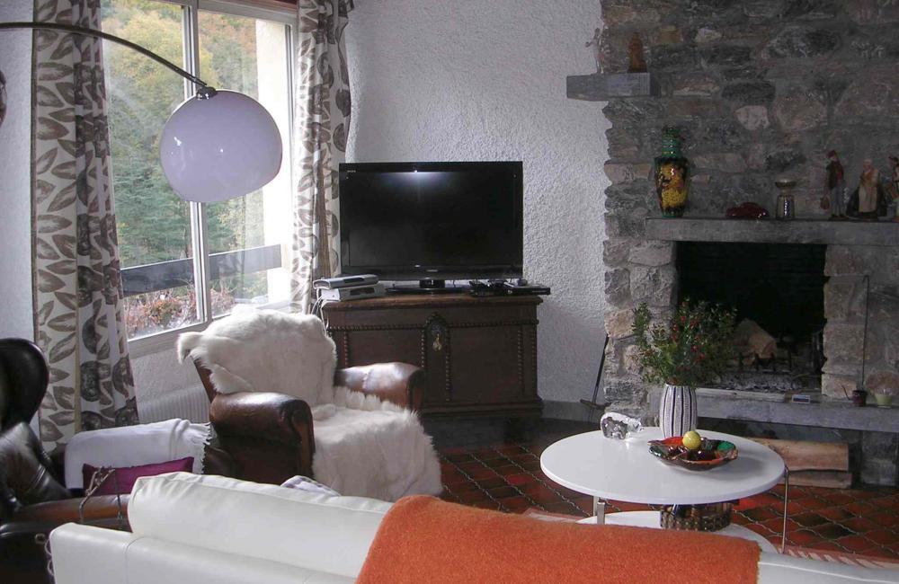 Capvern location appartement PLEIN SOLEIL T2 N°4 Séjour lumineux
