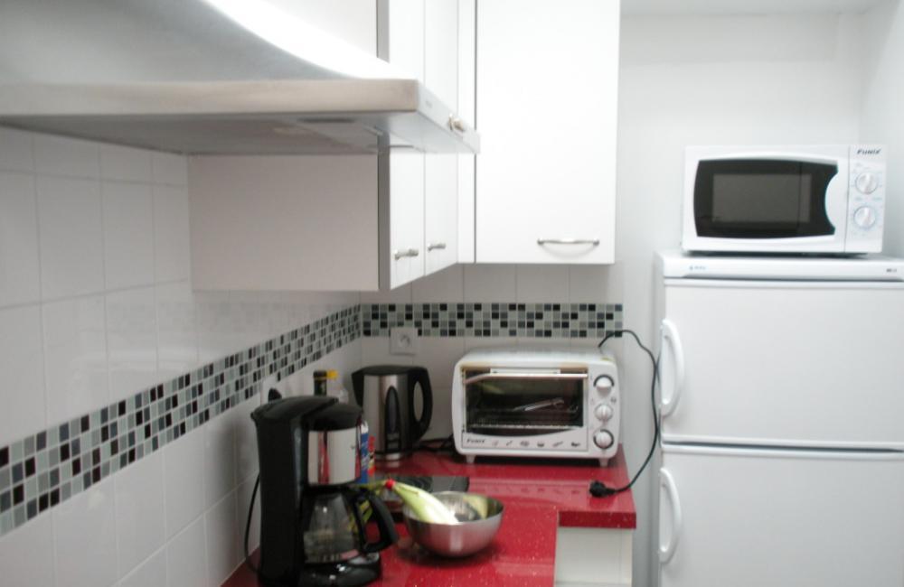 Capvern location appartement PLEIN SOLEIL T2 N°4 CUISINE